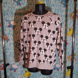 MICKEY MOUSE SWEATER